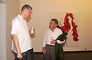 James Nares and Kasmin, James Nares private view, Hamiltons. 23 June 2004. SUPPLIED FOR ONE-TIME USE ONLY-DO NOT ARCHIVE. © Copyright Photograph by Dafydd Jones 66 Stockwell Park Rd. London SW9 0DA Tel 020 7733 0108 www.dafjones.com