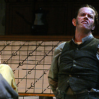 Dylan Baker directs and stars in The Art of Coarse Acting by Chautauqua Theater during the summer of 2006 in the Bratton Theater photo by Mark L. Anderson