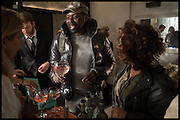 KOLE ONILE-ERE; RACHEL WYNDHAM WINCOTT; , Opening of the Trouble Club., Lexington St. Soho London. 6 November 2014