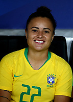 International Women's Friendly Matchs 2018 / <br /> France v Brazil 3-1 ( Allianz Riviera Stadium - Nice,France ) - <br /> Camila Pereira of Brazil
