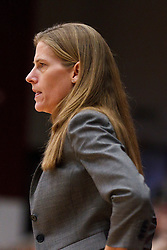 March 21, 2011; Stanford, CA, USA; St. John's Red Storm head coach Kim Barnes Arico on the sidelines against the Stanford Cardinal during the first half of the second round of the 2011 NCAA women's basketball tournament at Maples Pavilion. Stanford defeated St. John's 75-49.