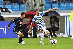 Foto LaPresse/Filippo Rubin<br /> 12/05/2019 Ferrara (Italia)<br /> Sport Calcio<br /> Spal - Napoli - Campionato di calcio Serie A 2018/2019 - Stadio &quot;Paolo Mazza&quot;<br /> Nella foto: MANUEL LAZZARI (SPAL)<br /> <br /> Photo LaPresse/Filippo Rubin<br /> May 12, 2019 Ferrara (Italy)<br /> Sport Soccer<br /> Spal vs Napoli - Italian Football Championship League A 2018/2019 - &quot;Paolo Mazza&quot; Stadium <br /> In the pic: MANUEL LAZZARI (SPAL)