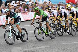 July 29, 2018 - Paris Champs-Elysees, France - PARIS CHAMPS-ELYSEES, FRANCE - JULY 29 : SAGAN Peter (SVK) of Bora - Hansgrohe during stage 21 of the 105th edition of the 2018 Tour de France cycling race, a stage of 116 kms between Houilles and Paris Champs-Elysees on July 29, 2018 in Paris Champs-Elysees, France, 29/07/18  (Credit Image: © Panoramic via ZUMA Press)