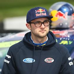 Andrew Jordan World Rallycross Media Day at Lydden Hill Race Circuit, Kent (c) Matt Bristow | SportPix.org.uk