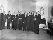 1957 - New Government at Aras an Uachtarain.