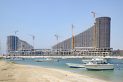 New shopping mall under construction in Sharjah United Arab Emirates