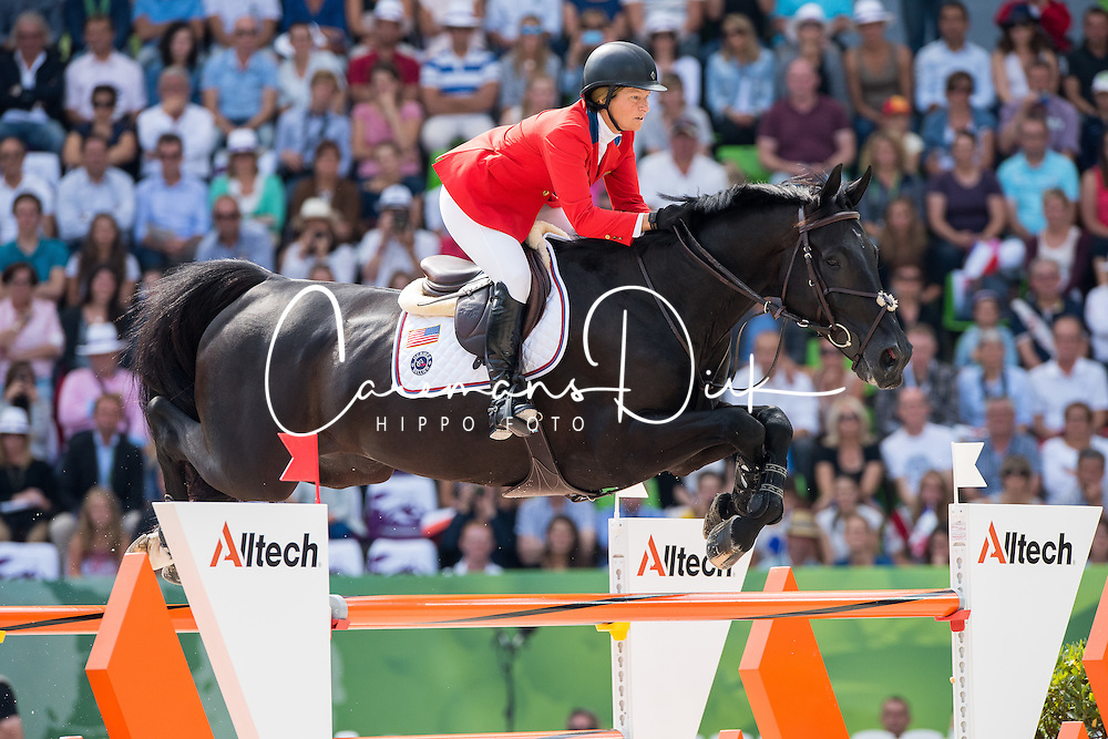 Beezie Madden, (USA), Cortes C - Show Jumping Final Four - Alltech FEI World Equestrian Gamesª 2014 - Normandy, France.<br /> © Hippo Foto Team - Jon Stroud<br /> 07-09-14