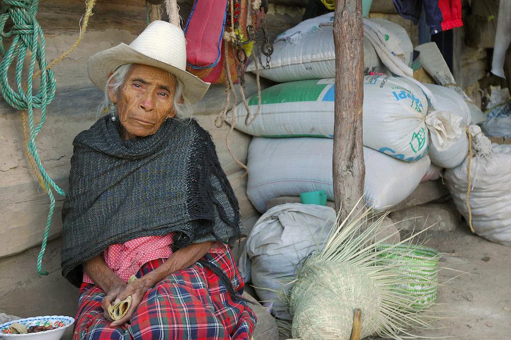 ".""An elderly farmer in Santiago Apoala"""