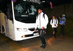 Rusiate Tuima arrives before the game - Mandatory by-line: Ken Sutton/JMP - 01/02/2019 - RUGBY - Irish Independent Park - Cork, Cork - Ireland U20 v England U20 -