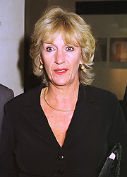 MRS SIMON ELLIOT sister of Camilla Parker Bowles, at a dinner in London on 30th September 1998.MKK 92