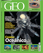 GEOinternational magazine 09/2010 prints Solvin's images of the Deep Sea plankton as cover story. The pictures were taken on a research cruise within the Census of Marine Zooplankton CMarZ from Germany to South Africa in November 2007 aboard the icebreaker Polarstern. Census of Marine Zooplankton CMarZ is part of the Census of Marine Life project.