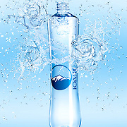Bottle of IOLI Mineral Water with liquid roses coming out of the bottle Ray Massey is an established, award winning, UK professional  photographer, shooting creative advertising and editorial images from his stunning studio in a converted church in Camden Town, London NW1. Ray Massey specialises in drinks and liquids, still life and hands, product, gymnastics, special effects (sfx) and location photography. He is particularly known for dynamic high speed action shots of pours, bubbles, splashes and explosions in beers, champagnes, sodas, cocktails and beverages of all descriptions, as well as perfumes, paint, ink, water – even ice! Ray Massey works throughout the world with advertising agencies, designers, design groups, PR companies and directly with clients. He regularly manages the entire creative process, including post-production composition, manipulation and retouching, working with his team of retouchers to produce final images ready for publication.