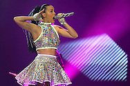 PERTH, AUSTRALIA - NOVEMBER 07:  Katy Perry performs live at Perth Arena during her Prismatic World Tour on November 7, 2014 in Perth, Australia.  (Photo by Paul Kane/Getty Images) *** Local Caption *** Katy Perry