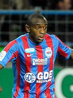 Joseph Yanick MBONE - 14.01.2012 - Caen / Rennes - 20eme Journee du Championnat de Ligue 1<br /> Photo: Fred Porcu / Icon Sport