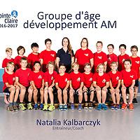 Groupe d'âge  développement AM