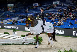 NOWAG Bianca (GER), Sir Hohenstein<br /> Stuttgart - German Masters 2019<br /> PREIS DER LISELOTT SCHINDLING STIFTUNG ZUR FÖRDERUNG DES DRESSURREITSPORTS<br /> Piaff Förderpreis Finale<br /> Nat. Dressurprüfung Kl. S***<br /> Grand Prix<br /> 15. November 2019<br /> © www.sportfotos-lafrentz.de/Stefan Lafrentz