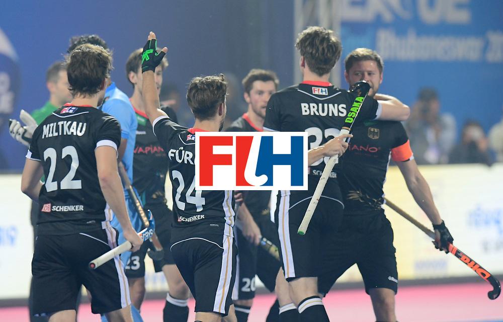 Odisha Men's Hockey World League Final Bhubaneswar 2017<br /> Match id:10<br /> India v Germany<br /> Foto: Germany scored a goal<br /> WORLDSPORTPICS COPYRIGHT FRANK UIJLENBROEK