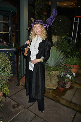 The Ivy Chelsea Garden's Guy Fawkes Party & Launch of The Winter Garden was held on 5th November 2016.<br /> Picture shows:- BASIA BRIGGS.