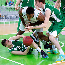 20140419: SLO, Basketball - Telemach League, KK Union Olimpija vs KK Zlatorog Lasko