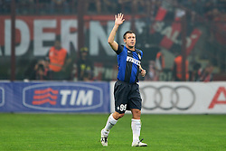 07.10.2012, Giuseppe Meazza Stadion, Mailand, ITA, Serie A, AC Mailand vs Inter Mailand, 7. Runde, im Bild 07.10.2012, Giuseppe Meazza Stadion, Mailand, ITA, Serie A, AC Mailand vs Inter Mailand, 7. Runde, im Bild Antonio Cassano esce dal campo // during the Italian Serie A 7th round match between AC Milan and Inter Milan at the Giuseppe Meazza Stadium, Milan, Italy on 2012/10/07. EXPA Pictures © 2012, PhotoCredit: EXPA/ Insidefoto/ Andrea Staccioli..***** ATTENTION - for AUT, SLO, CRO, SRB, SUI and SWE only *****