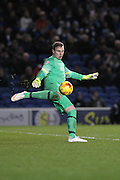 David Stockdale manage to keep a clean sheet at the 100th Game at the American Express Community Stadium during the Sky Bet Championship match between Brighton and Hove Albion and Leeds United at the American Express Community Stadium, Brighton and Hove, England on 24 February 2015. Photo by Stuart Butcher.