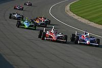 Scott Dixon, Michigan IRL race Firestone Indy 400, Michigan International Speedway, Brookly, MI USA,7/30/2006