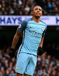 Gabriel Jesus of Manchester City - Mandatory by-line: Matt McNulty/JMP - 05/02/2017 - FOOTBALL - Etihad Stadium - Manchester, England - Manchester City v Swansea City - Premier League