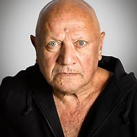 Stephen Berkoff Portrait Sititng