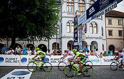 Finish line of 4th Stage Brezice - Novo Mesto (155,8 km) at 20th Tour de Slovenie 2013, on June 16, 2013, in Brezice, Slovenia. (Photo by Urban Urbanc / Sportida.com)