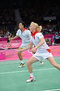 Badminton Day 1 London 2012