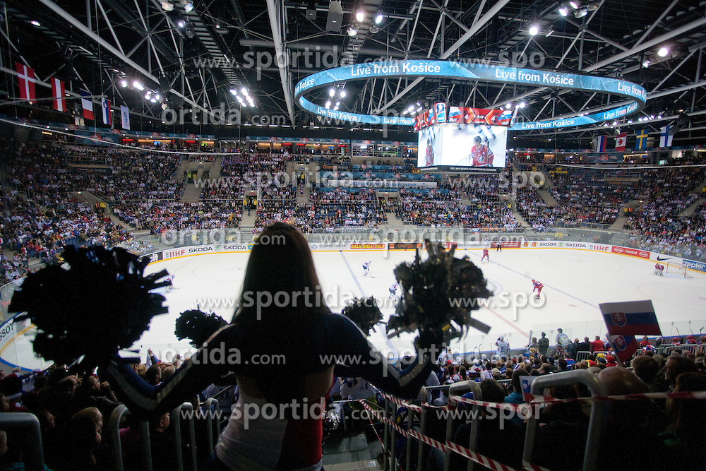 View on ice rink during ice-hockey match between Russia and Slovenia of Group A of IIHF 2011 World Championship Slovakia, on May 1, 2011 in Orange Arena, Bratislava, Slovakia. (Photo by Matic Klansek Velej / Sportida)