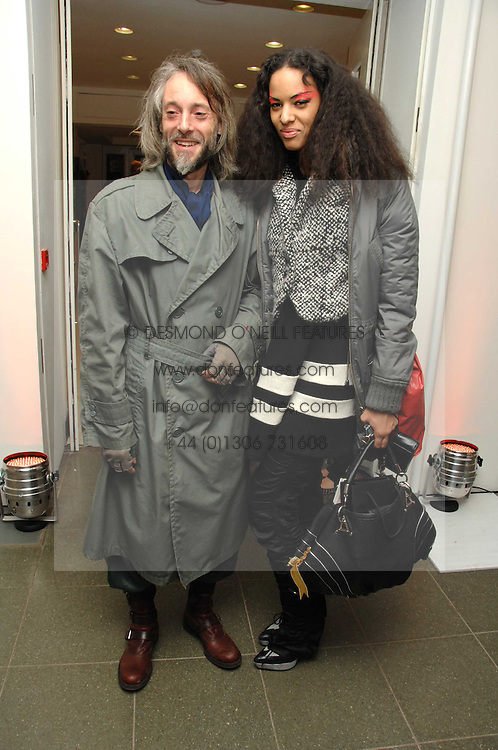 BEN WESTWOOD and JOY VIELI at a party to celebrate the publication of Vivienne Westwood's Opus held at The Serpentine Gallery, Kensington Gardens, London W2 on 12th February 2008.<br /><br />NON EXCLUSIVE - WORLD RIGHTS