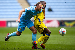 Abu Ogogo of Bristol Rovers takes on David Meyler of Coventry City - Mandatory by-line: Robbie Stephenson/JMP - 07/04/2019 - FOOTBALL - Ricoh Arena - Coventry, England - Coventry City v Bristol Rovers - Sky Bet League One