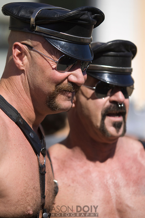 Folsom Street Fair 2008, 25 year anniversary. ..photo by Jason Doiy.9-28-08..