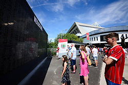 Wedlock wall - Mandatory by-line: Dougie Allward/JMP - 04/08/2018 - FOOTBALL - Ashton Gate Stadium - Bristol, England - Bristol City v Nottingham Forest - Sky Bet Championship
