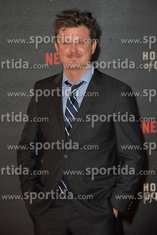 Beau Willimon attends the World Premiere of 'House of Cards' Season 3 at The Empirem Leicester Square in London, England. 26th February 2015. EXPA Pictures &copy; 2015, PhotoCredit: EXPA/ Photoshot/ James Warren<br /> <br /> *****ATTENTION - for AUT, SLO, CRO, SRB, BIH, MAZ only*****