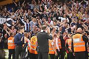 John Nelms applauds the traveling support- Crystal Palace v Dundee - Julian Speroni testimonial match at Selhurst Park<br /> <br />  - © David Young - www.davidyoungphoto.co.uk - email: davidyoungphoto@gmail.com