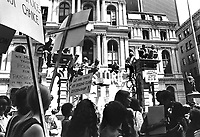 Women's liberation march in Boston Massachusetts USA in the 1970s