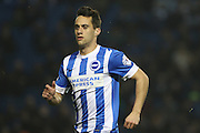 Brighton striker, Sam Baldock (9) during the Sky Bet Championship match between Brighton and Hove Albion and Reading at the American Express Community Stadium, Brighton and Hove, England on 15 March 2016. Photo by Geoff Penn.