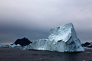 Iceberg, Kangerlugussuaq, Greenland.