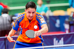 (NED) MONTANUS Jean-paul in action during 15th Slovenia Open - Thermana Lasko 2018 Table Tennis for the Disabled, on May 10, 2018 in Dvorana Tri Lilije, Lasko, Slovenia. Photo by Ziga Zupan / Sportida
