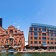 Baltimore's Inner Harbor district