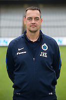 Club's goalkeeper coach Jan Van Steenberghe poses for the photographer during the 2015-2016 season photo shoot of Belgian first league soccer team Club Brugge, Friday 17 July 2015 in Brugge