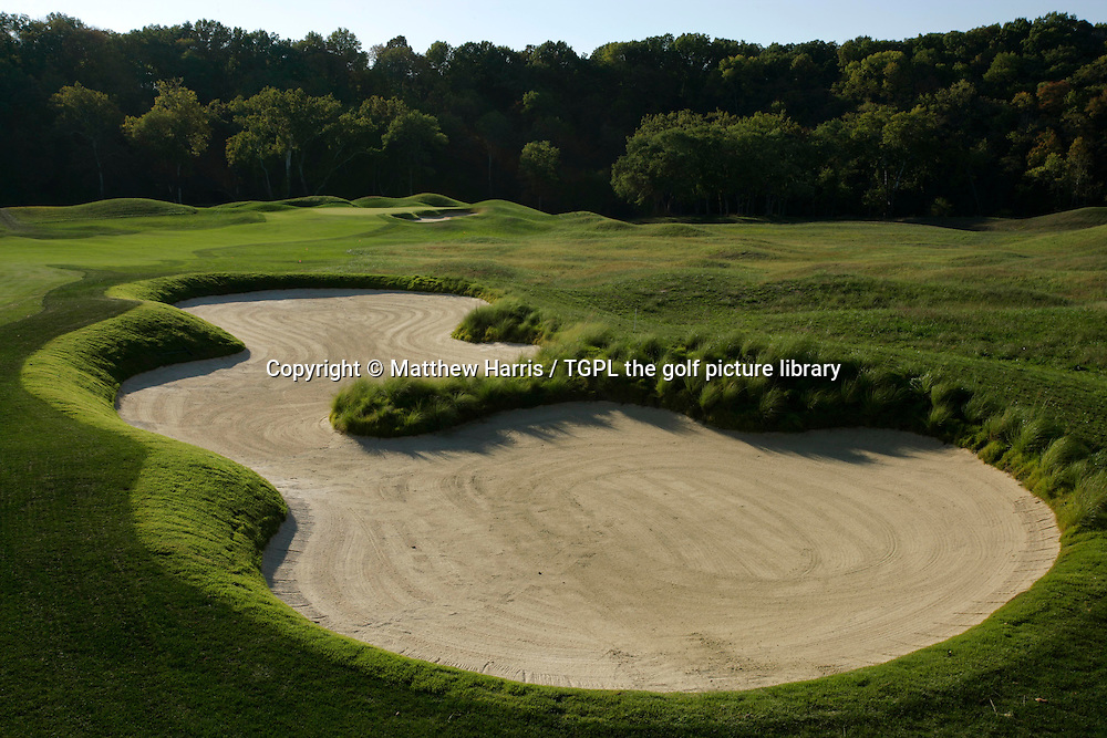 Valhalla during autumn 2007. Venue for the 2008 Ryder Cup Matches between USA and Europe to be staged in September.<br /> Shown here 5th - par 4.