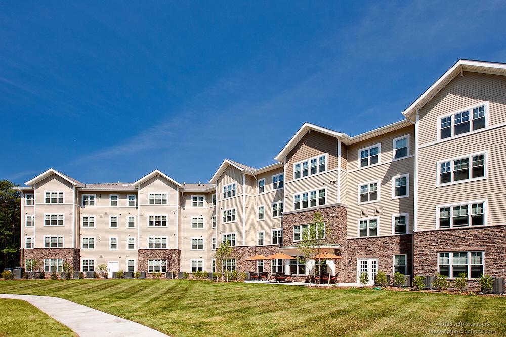 Lexington Park Senior Living Center Victory Woods by Archietctural Photographer Jeffrey Sauers