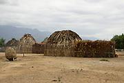 Africa, Ethiopia, Omo valley, Arbore tribe hut