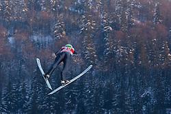 31.01.2014, Mühlenkopfschanze, Willingen, GER, FIS Weltcup Ski Sprung, Willingen, im Bild Jaka Hvala, SLO, // during the FIS Skijumping Worldcup in Willingen at the Mühlenkopfschanze in Willingen, Germany on 2014/01/31. EXPA Pictures © 2014, PhotoCredit: EXPA/ Eibner-Pressefoto/ Socher<br /> <br /> *****ATTENTION - OUT of GER*****