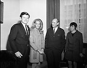 Edward Kennedy visits Taoiseach, Jack Lynch.04/03/1970