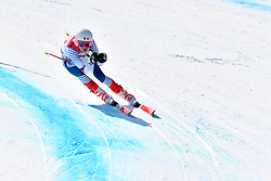 BAUCHET Arthur LW3 FRA competing in ParaSkiAlpin, Para Alpine Skiing, Super G at PyeongChang2018 Winter Paralympic Games, South Korea.