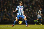 Brighton midfielder Oliver Norwood (21) during the EFL Sky Bet Championship match between Brighton and Hove Albion and Sheffield Wednesday at the American Express Community Stadium, Brighton and Hove, England on 20 January 2017.